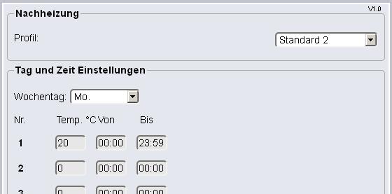 Gut bekannt Helios EasyControls - Hilfe Lokaler Webserver NR93